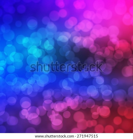 colorful abstract background with bokeh lights