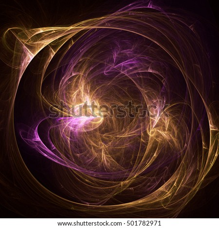 Colorful abstract background with fractal design