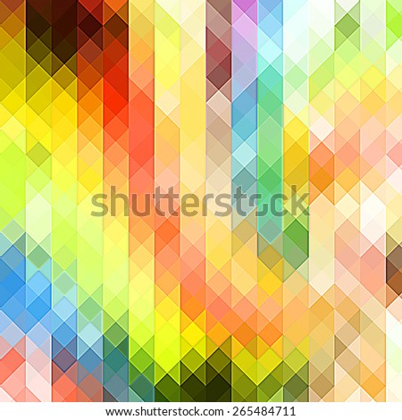 colorful Abstract background with triangle pattern - stock photo