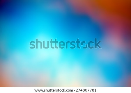 colorful abstract blur background - stock photo