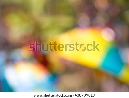 Colorful abstract blurs background
