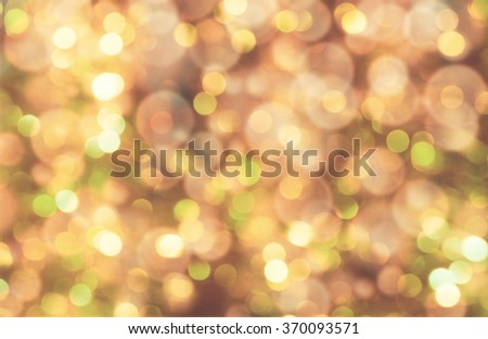 colorful abstract bokeh background, brown color - stock photo