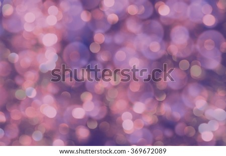 colorful abstract bokeh background, purple color - stock photo