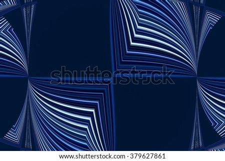 colorful abstract design in blue - stock photo