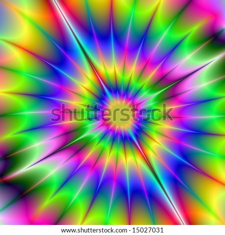 colorful abstract figure