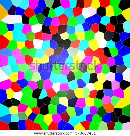 Colorful abstract honeycomb background. - stock photo