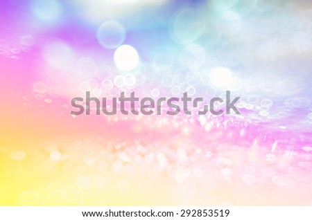 colorful abstract light background with bright bokeh - stock photo