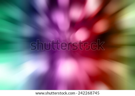 Colorful abstract motion blur light  - stock photo