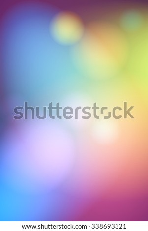 colorful abstract soft focus lights for background/blurred lights background/colorful abstract soft focus lights for background - stock photo