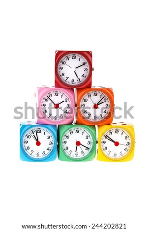 Colorful Alarm Clock