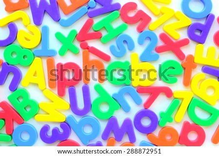 colorful alphabet plastic for baby learn and play.we can buy alphabet toy in many shop