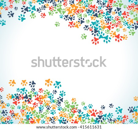 Animal Footprints Stock Images, Royalty-Free Images & Vectors ...