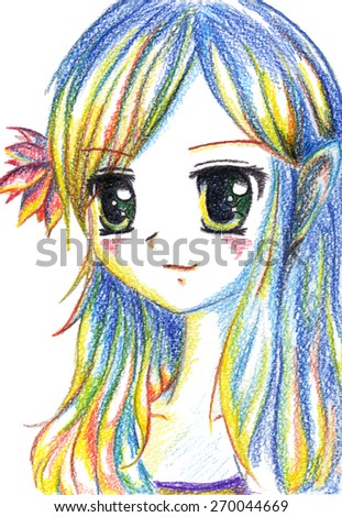 Anime Stock Photos Images Amp Pictures Shutterstock