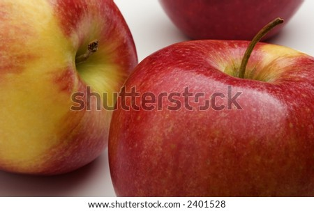 Colorful Apples - stock photo