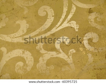 colorful arabian style elegant decor. More off this motif & more decors in my port. - stock photo