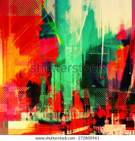 colorful art background for web - stock photo