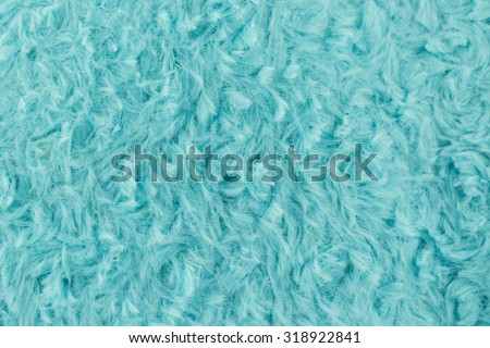 Colorful artificial fur soft and worm texture  use for background - stock photo