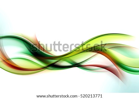 Colorful artistic waves. Blurred lines background. Abstract creative graphic design. Decoration wall concept.