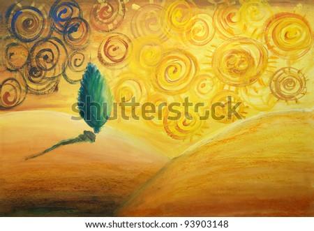 Colorful Artwork - stock photo