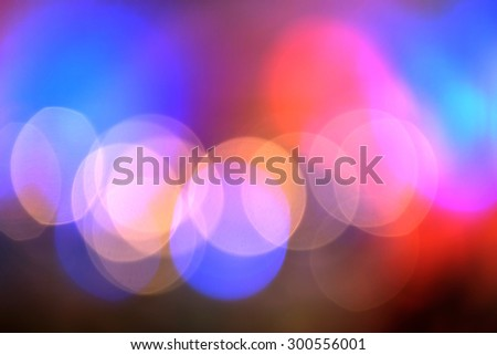 Colorful background, abstract lights, out of focus lights. - stock photo