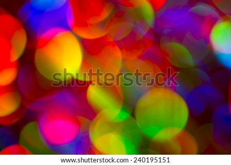 Colorful Background City lights - stock photo