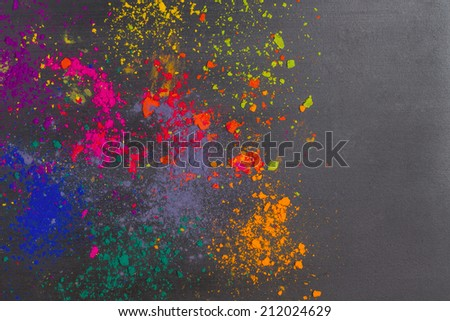 Colorful background. Colors on a dark background - stock photo
