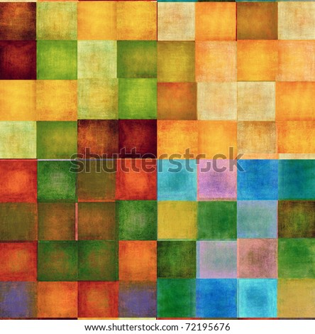 colorful background image and design element with earthy texture - stock photo