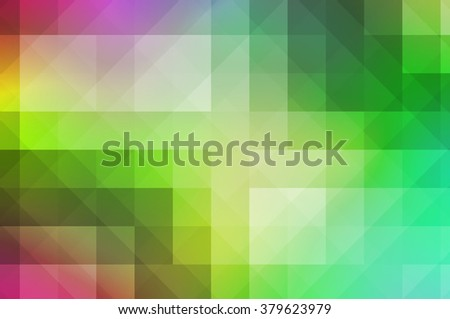 Colorful background in mosaic pattern, design to convey sense of modern or futuristic style. - stock photo