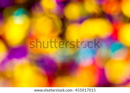 Colorful background in soft unfocus. Multicolors background.