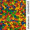 Colorful background of gumballs - stock photo