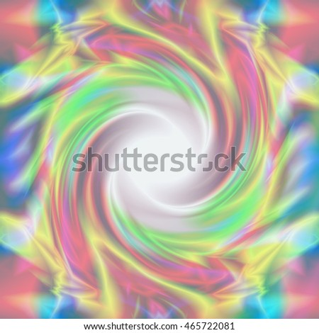 Colorful background of soft swirling texture print