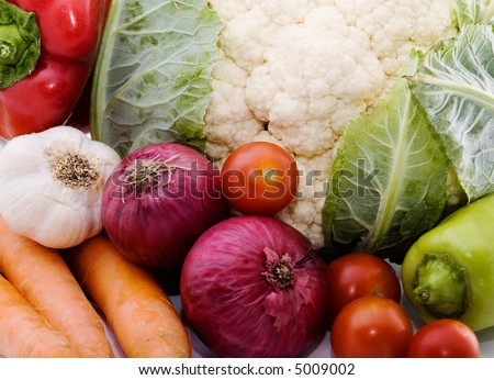 colorful background of vegetables, healthy eating concept