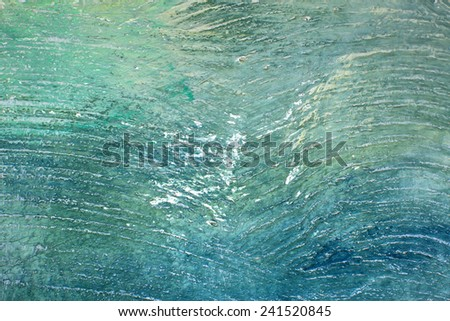 colorful background painted on the wall brush - stock photo
