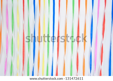 Colorful Background/ Texture for happiness or festival feeling - stock photo
