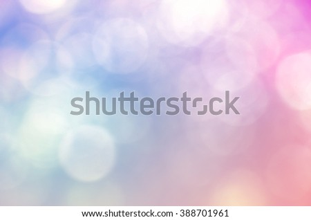Colorful background with natural light texture and soft focused. Vintage and pastel colors. - stock photo