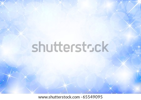 Colorful background with stars - stock photo