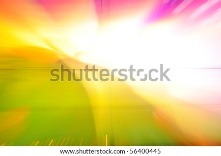 Colorful background, zooming effect - stock photo