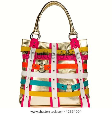 Colorful bag - stock photo