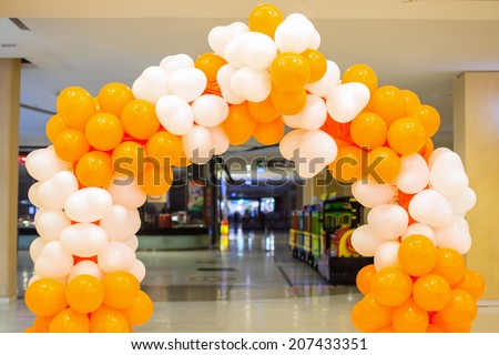 Colorful balloon. - stock photo