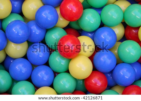 colorful balls abstract background