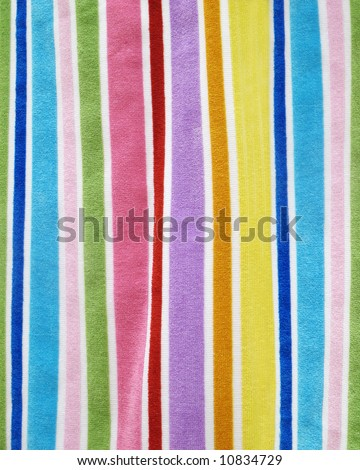Colorful Beach Towel Background - stock photo