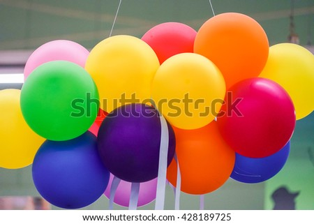 Colorful Birthday baloons