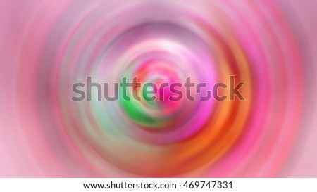 Colorful blur lights background