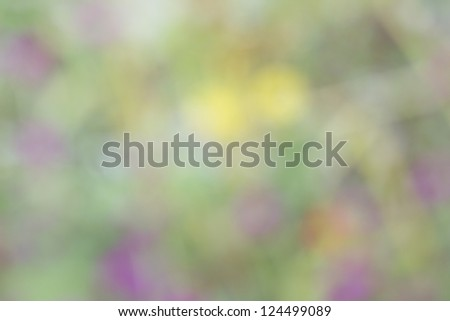 colorful blurred  bokeh background - stock photo