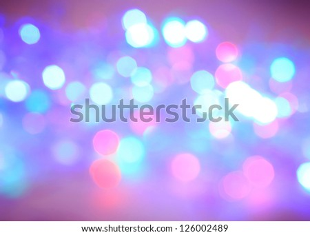 colorful Bokeh Background - stock photo