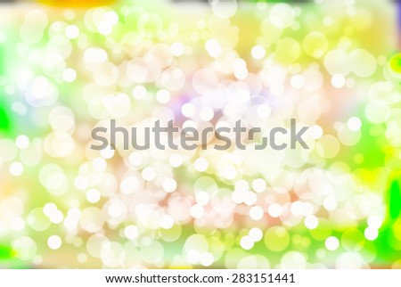 Colorful bokeh backgrounds