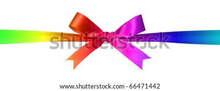 Colorful bow - stock photo