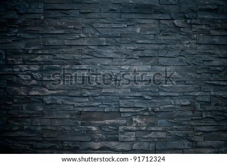 colorful brick wall - stock photo