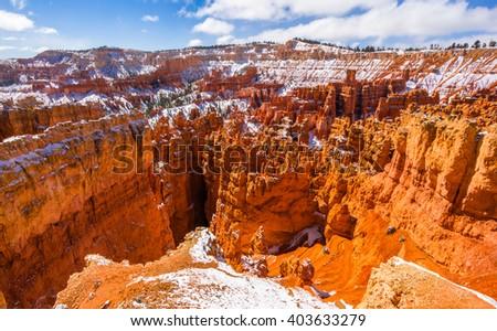 Colorful Bryce canyon national park, Utah - stock photo