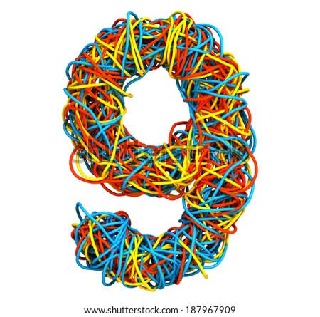 Colorful Cable Number